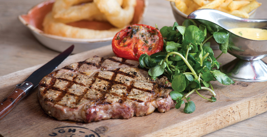 Steak Night at The Carpenters Arms