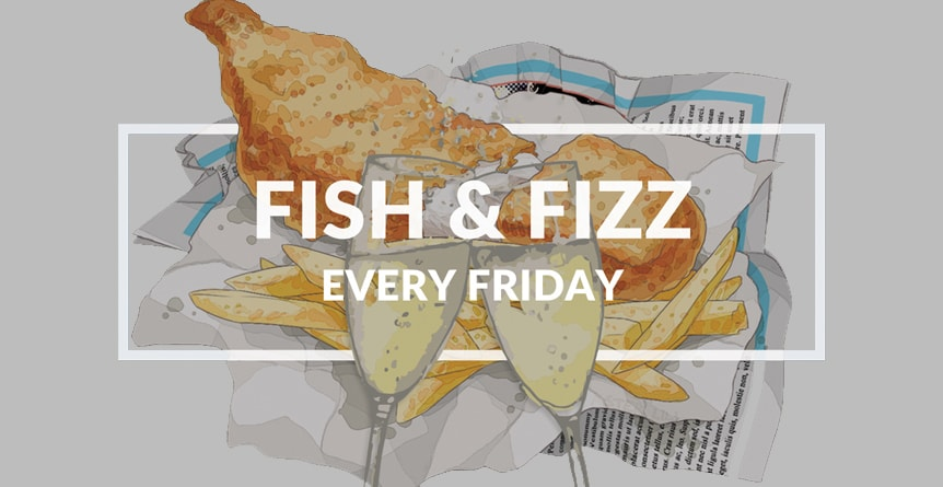 Fish & Fizz Friday at The Carpenters Arms, Felixkirk