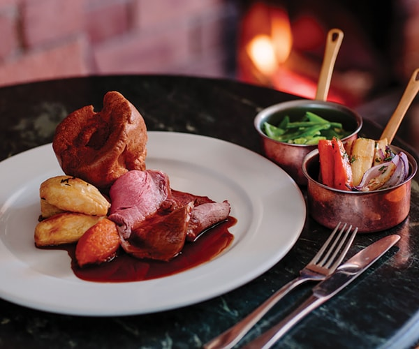 Sunday Lunch in Thirsk at The Carpenters Arms