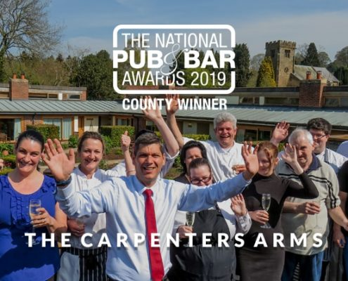 North Yorkshire's Pub & Bar of the year - The Carpenters Arms